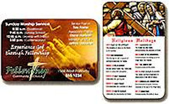 Custom Laminated Wallet Card 500 Min