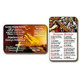 Custom Laminated Wallet Card 500 Min