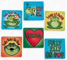 F.R.O.G. Fully Rely On God Assorted Magnets