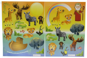 Noah Ark Magnets Set