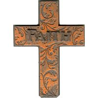 Faith Cross Resin Magnet
