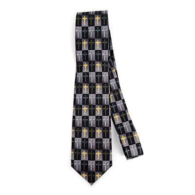 Novelty Celtic Cross Tie