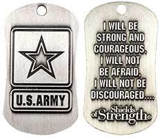 U.S. Army Antique Dog Tag