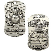 U.S. Marine Corps Antique Dog Tag