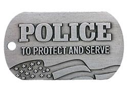 Police Dog Tags Protect and Serve