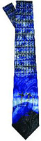 Three Crosses of Calvary Men's Neck Tie