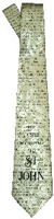 The Gospel of Saint John Men's Neck Tie