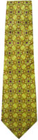Golden Doves Men's Silk Neck Tie