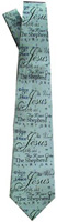 Names Of Jesus Silk Mens Tie