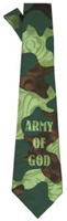 Army Of God Men's Neck Tie