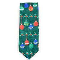 Christian Fish and Cross Men's Neck Tie