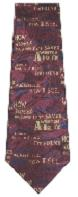 Burgundy Amazing Grace Men's Neck Tie