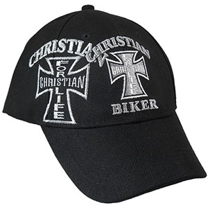 Your cart is empty. Go To Cart. Christian Biker Baseball Cap cabf287158a
