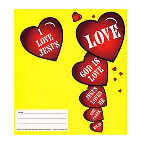 $10.00 Love Jesus Coin Folders (Pkg of 50)