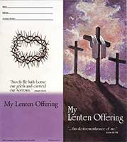 1059 Traditional Three Crosses Lenten Coin Folder