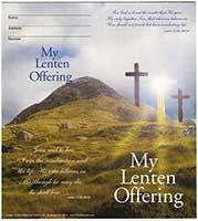 $10 My Lenten Semi-Dated Quarter Coin Folders (Pkg of 50)