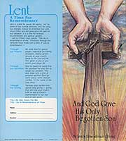 1063 $10 Hands of God Lent Semi-dated Coin Folder
