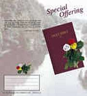 English language special offering coin folders
