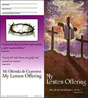 $10 Spanish English Lent Crosses Quarter Coin Folders (Pkg of 50)