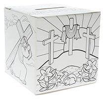Color It Youth Easter Offering Box (Pkg of 50)