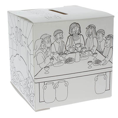 Easter Offering Box Color it Yourself Sunday School