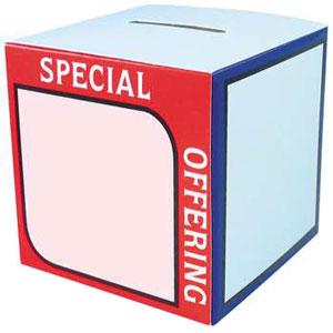 Special Offering Box, Fund Raising (Pkg of 50)