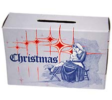 135 Christmas Offering Box