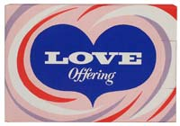 Love Offering Box Christian Good Deeds (Pkg of 50)