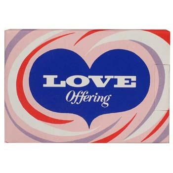 Love Offering Box Christian Good Deeds (Pkg of 50)