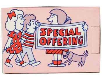 Kids Special Offering Share Box (Pkg of 50)