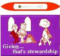 Giving That's Stewardship Donation Box