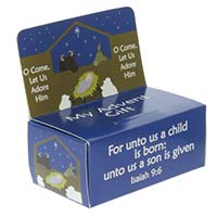 Advent Offering Donation Box (Pkg of 10)