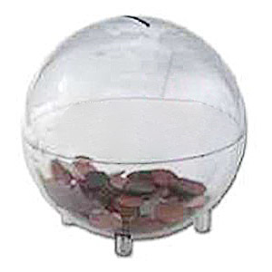 Clear World Offering Bank Plastic