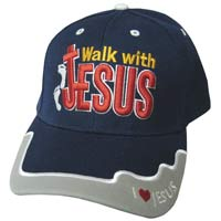 Walk With Jesus Baseball Cap