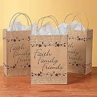Faith, Family, Friends Gift Bags