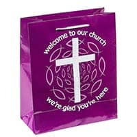 Welcome To Our Church Gift Bags - Visitors