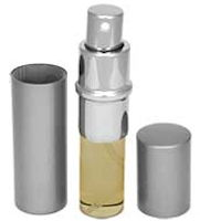 Anointing Oil Atomizers Reuseable Silver