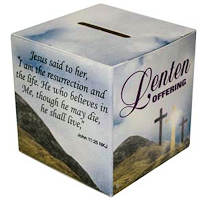 Lenten Offering Box English or Bilingual (Pkg of 50)