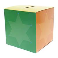 Stars Children's Bank Box (Pkg of 50)