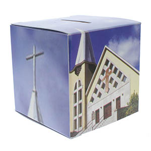 City Church Offering Donation Box