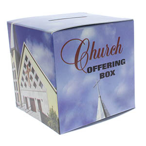 City Church Offering Donation Box (Pkg of 50)
