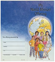 My World Mission Offering $10.00 Coin Folder (Pkg of 25)