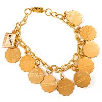Child's Ten Commandments Bracelet