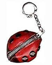 Child's Ladybug Coin Purse, Keyring