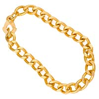 Gold Chain Bracelet Youth (Pkg of 24)