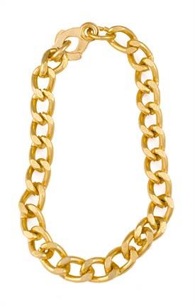 Youth Gold Chain Bracelet (Pkg of 24)