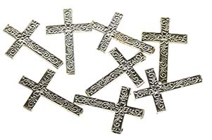 Silver Plastic Cross