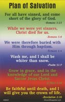 Plan Colors of Salvation Pocket Cards