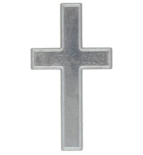 Pocket Cross God Loves You Metal  Backside (Pkg of 25)