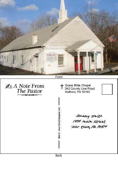 Custom Church Bulletins 4 Color 11 x 17